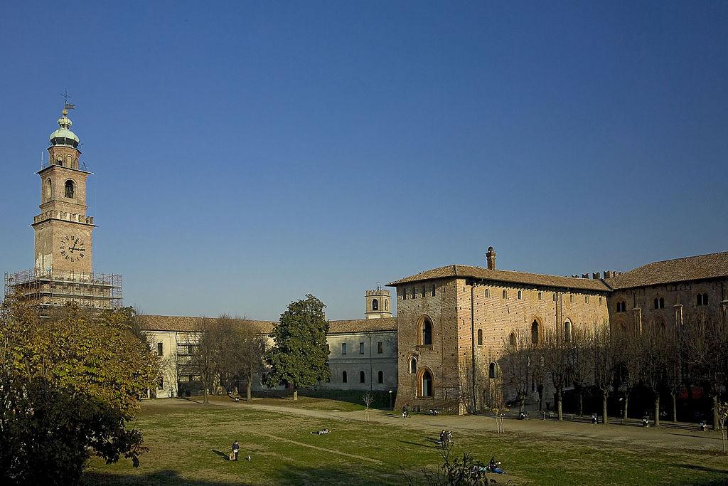 Vigevano - Castello e torre del Bramante